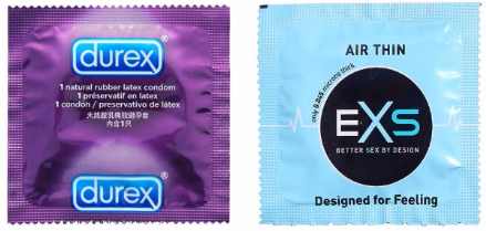 Durex Elite & EXS Air Thin Sensitive Mixed Pack